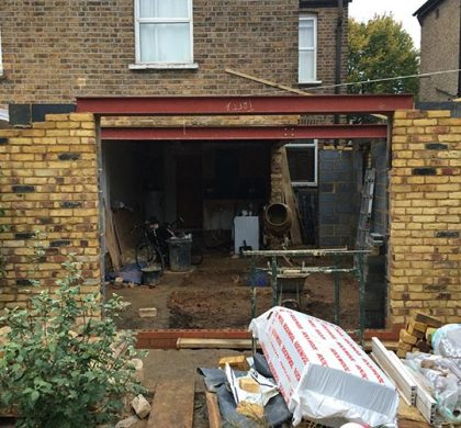 Kitchen Extension, Elthorne Park Road, London W7