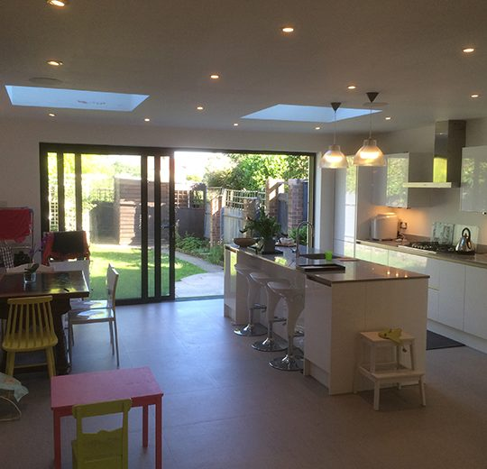 Kitchen & Diner Extension, Chalfont Way, London W13