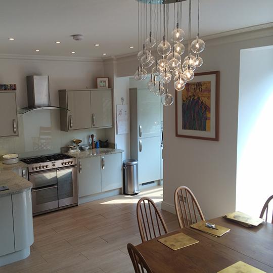 kitchen diner lighting. Interesting Kitchen Ealing In Kitchen Diner Lighting A