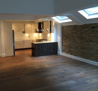 Kitchen Extension, Addison Gardens, London W14