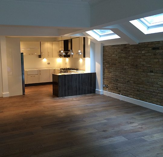 Kitchen Extension, Addison Gardens, London W14