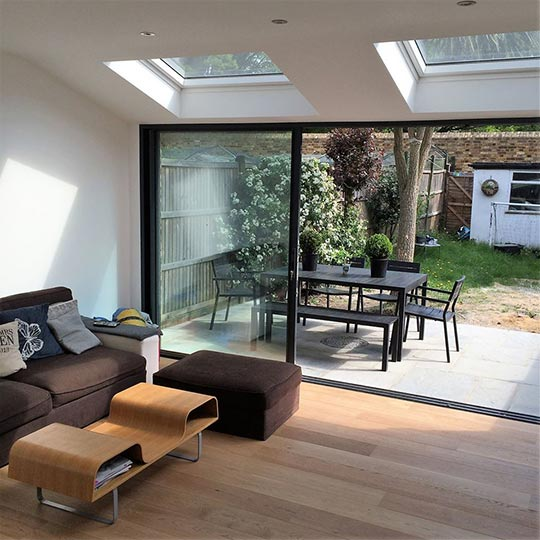 Ground floor extension and refurbishment, Deans Road, Hanwell W7