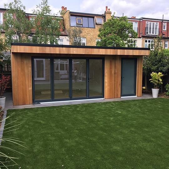 Garden Studio Elers Road Ealing W13 Build And Refurb