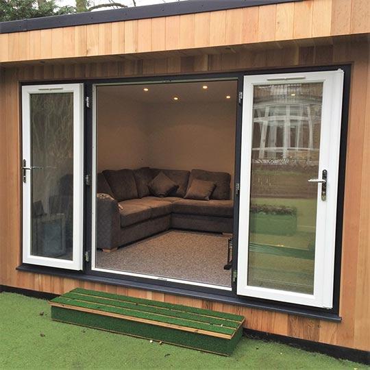 Garden Studio with added storage area in Ealing, London W13