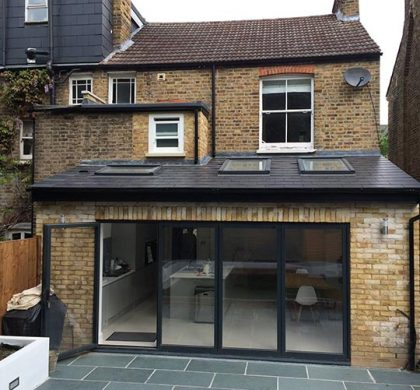 Kitchen & First Floor Bathroom Extension, Laurel Gardens, Hanwell W7